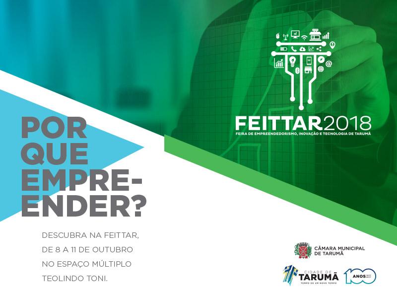 Tarumã realiza na próxima semana a Feira de Empreendedorismo, Inovação e Tecnologia