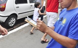 Aumentam agressões contra adolescentes que atuam na Zona Azul