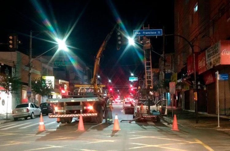 Departamento de Trânsito intensifica sinalização das vias para prevenção de acidentes
