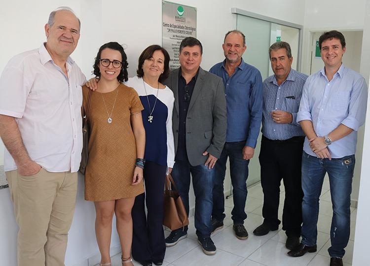 Vice-prefeito destaca recursos utilizados para a instalação do Centro de Especialidades Odontológicas
