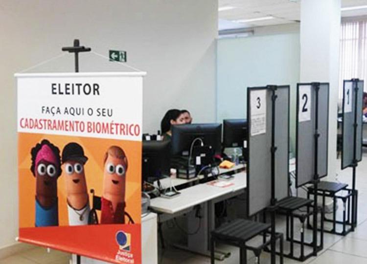 Cresce procura pelo recadastramento biométrico nos postos itinerantes e nos cartórios eleitorais