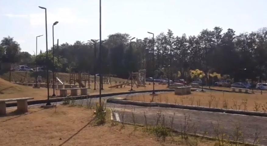 Parque Ecológico 'Melchiades Pires da Rosa' no bairro San Fernando Valley é inaugurado