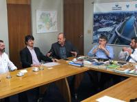 Prefeito discute pautas com Secretário de Infraestrutura e Meio Ambiente do Estado