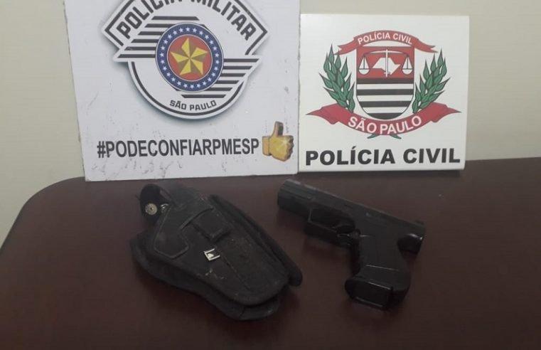 Jovem de 20 anos apontado como autor de roubo em padaria com arma de fogo é preso