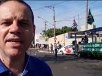 Desfile na Avenida Paschoal Santilli marca as festividades de 7 de Setembro em Assis