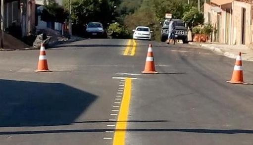 Departamento de Trânsito reforça sinalização viária nos bairros