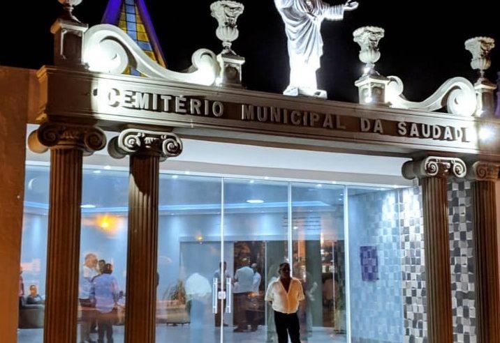 Inaugurado novo portal do Cemitério Municipal