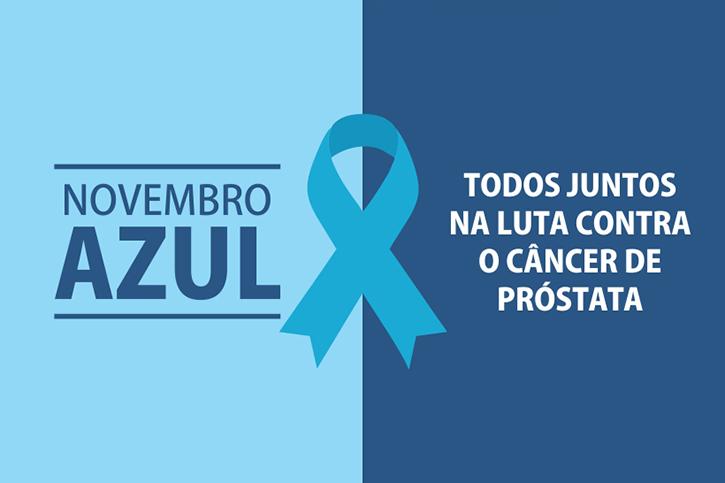 """Ações voltadas a campanha """"Novembro Azul"""" começam a ser divulgadas pela secretaria da saúde"""