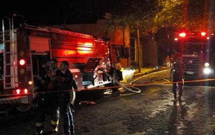 Morte de cadeirante durante incêndio é um dos destaques do plantão do final de semana do Corpo de Bombeiros