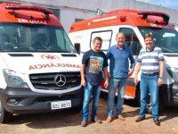 Assis recebe duas novas ambulâncias para o SAMU e Secretaria de Saúde repassa para o CIVAP